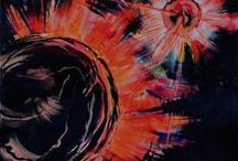 maalauksia 2015 / 50 cm x 50 cm akryyli kankaalle