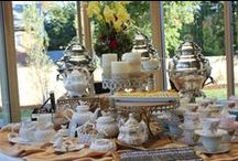 Tea Parties / All the most wonderful and charming ideas for high teas and afternoon teas!