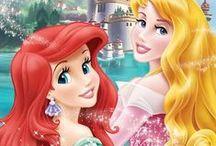 Princess / This board has pins from Disney Princess. My favorite Disney Princess are Rapunzel, Ariel, Merida  and Tiana.