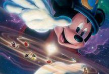 Disney and Pixar /  My childhood. I grew up with Disney. I still enjoy watching these movies.