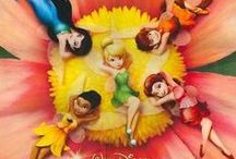 Disney Fairies / Here are pines with Tinkerbell and her friends.