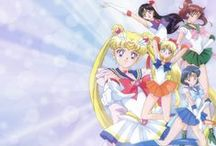 Sailor Moon and Sailor Moon Crystal / My favorite childhood anime.