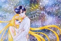 Sailor Moon concept art, manga and Naoko Takeuchi art / I like her work.