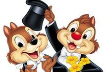 "Chip and Dale / Chip and Dale are the ""sweetest"" Disney characters. I love them since I was little."