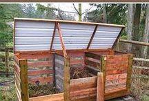 Kompost, gödning, bekämpning / Hur man komposterar, göder och bekämpar skadedjur ekologiskt.