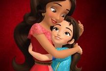 Elena of Avalor / This cartoon is really beautiful. Music, characters and story. I like to watch even if I am no longer a child.