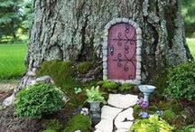 Fairy Fun / Bring whimsy to your garden with a fairy garden. A great activity to do with kids, they will love creating their very own fairy hideaway.