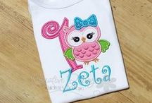 LSBB: Birthday Collection / A Collection for both, Girls and Boys.  Personalized Birthday Shirts to fit many occasions, from Character Theme, Seasonal Birthdays or celebrating a birthday number!    Custom and Personalized Children Birthday Shirts!