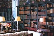 Home Libraries / Images of wonderful home libraries. / by Brian Rice