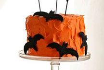 Halloween / Griezelen met de mooiste taarten, cupcakes en ander gebak!
