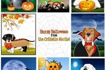 "Free Halloween Stuff for Kids / Grab your free CritterKin Halloween posters to celebrate the new CritterKin book, ""Meet the Mutts.""  Read about the mutts and preorder the book here; http://www.amazon.com/Meet-Mutts-A-CritterKin-Tale-ebook/dp/B00F8PGYCK"