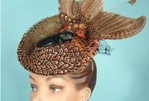 VINTAGE HATS FEATHERS