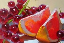 FOOD--FRUITS--ART ººº**ººº / by Patricia Herbas Herbas