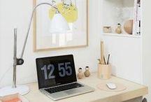 HOME OFFICE / Inspiración para hacer de tu lugar de trabajo el mejor del mundo! Fuera el stress!!!