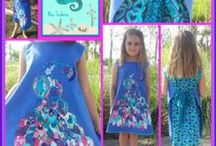 Blue Seahorse / Unique, shabby chic and fun children's handmade clothes available from www.facebook.com/BlueSeahorseHandmade https://www.etsy.com/au/shop/BlueSeahorseHandmade
