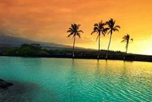 Hawaii / Somewhere I've always been intrigued and fascinated by. Hoping to live there one day.