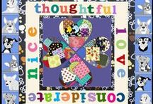 """Quilting for Kindness / Ms. Jenaia and the CritterKin mutts are embarking on a very exciting """"Be Kind Pocket Project"""" with Monica Evon, Brittany Braasch and their students at Bellevue Elementary School in Nebraska. Here you can watch the project unfold and gets ideas for your own kindness quilt."""