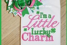 St. Patrick's Day / Leprechauns are wee little things! Dress them so they don't get pinched :)