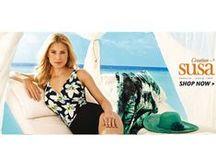 New Susa Dessous Swimwear Summer 2015 / Νέα κολεξιόν σε γυναικεία μαγιώ της γερμανικής εταιρείας Susa που εξειδικεύεται στα μαγιώ για μεγάλα μεγέθη!   Δείτε όλη την νέα συλλογή εδώ > http://bit.ly/1KsPWpc