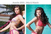 New Summer Collection 2015 by Amelie Mix&Match / Δημιουργήστε τους δικούς σας ξεχωριστους συνδιασμούς, για τέλειες εμφανίσεις στις παραλιες το καλοκαίρι, με μεμονωμένα μαγιώ mix&match, σε τέλεια ποιότητα και εφαρμογή σε όλα τα σχέδια, από την ελληνική εταιρεία Amelie. Δείτε όλη τη συλλογή εδώ > http://mybabydoll.gr/product-tag/amelie/