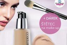 ARTDECO / Úspěšná německá značka ARTDECO reprezentuje kvalitní a vysoce profesionální kosmetiku. Její portfolio zahrnuje kompletní řadu produktů z oblasti inovativní a exkluzivní dekorativní kosmetiky určenou pro dokonalé nalíčení.