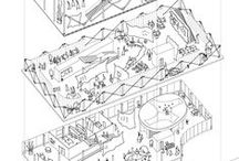 #Arch #Axos / The power of axonometric perspective in architectural presentations...
