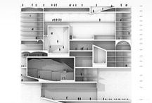 #Arch #Sections / Great sections of architectural projects and buildings...