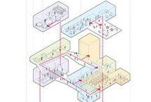 #Arch #Diagrams / Cool architectural concept diagrams...