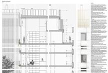 #Arch #Details / Construction details and facade sections...