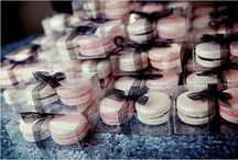 DIY Macaron Favors and Towers