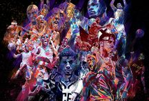 NBA Art / by Phil Zubia
