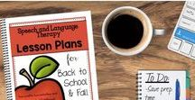 September Speech and Language Therapy Ideas / Great activities for speech therapy during the back to school season. Tons of get to know you activities, perfect for September.