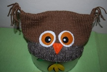 My Hats / I love to crochet different kind of hats. Always a new one.