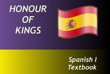 Spanish I / This text is a high school level course designed for beginning Spanish students. There are 19 weekly lessons which focus on a specific grammar concept and include exercises and a vocabulary list. The course also contains seven tests and a final exam. There is an answer key to accompany the text. The entire text is non-consumable. The text is written with the assumption that neither the parent nor the student has any knowledge of Spanish.