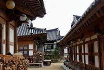Hanok Korean traditional house (한옥) / Korean traditional building