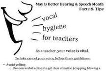 Voice / Voice information for speech-language pathologists.