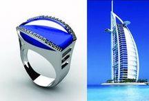 Linhas de Joia inspiradas na arquitetura de Dubai - por Fernanda Montanher