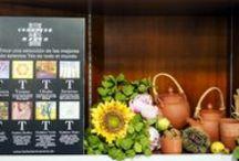 Nuestros Tés :) / Os dejamos una gran variedad de tés de todo el mundo en todas sus variedades: té verde, té rojo, té negro y té blanco; así como mezclas de frutas y flores e infusiones ayurvédicas.