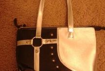 My handbags / I collect handbags--some of mine are pretty cool IMO / by Suz DeMello