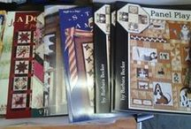 Book Worms / Friendship Star Quilt Shop has a large selection of pattern books for you to choose from.
