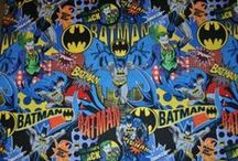 Super Heros on Super Fabric / Use these SUPER fabrics to make SUPER gifts for your SUPER SUPERHERO lovers!