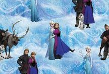Frozen / Friendship Star Quilt Shop has a growing selection of Frozen fabric. Visit us at our store, or our online store to see more Frozen!