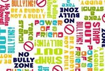Take A Stand Collection (Bully Prevention) / ANNOUNCEMENT:  Many of these prints are now on clearance!  Get the deal while it lasts!  Quilting Treasures has created a bully prevention collection of fabric, and a coordinating collection.  Friendship Star Quilt Shop has these fabrics.