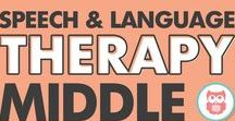 Middle & High School - Speech Therapy