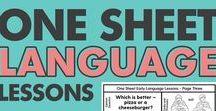 Language / Ideas to target language skills for speech and language therapists.
