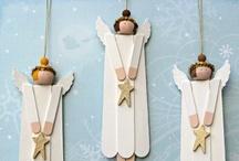 ANDĚLÍČCI / Vánoce - výroba a výzdoba - andělíčci