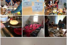 Cooking at LSC /  #Culture, #Cuisine, # fun