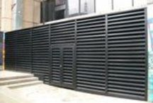 noise control solutions / innovative or pretty looking plant noise screens, enclosures, attenuators etc