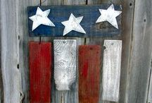 Crafting with Lumber / A visit to your locally owned lumber yard and hardware store is can inspire some creativity in all of us.