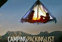 Camping Packing List / Everything you need for your camping trip!
